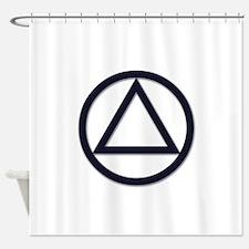 A.A. Symbol Basic - Shower Curtain