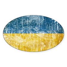 Ukraine Flag Decal