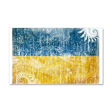 Ukraine Flag Car Magnet 20 x 12