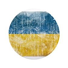 """Ukraine Flag 3.5"""" Button (100 pack)"""
