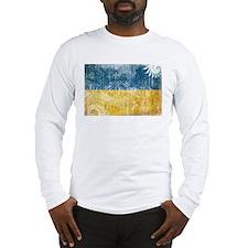 Ukraine Flag Long Sleeve T-Shirt
