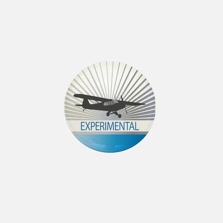 Aircraft Experimental Mini Button