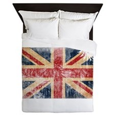United Kingdom Flag Queen Duvet