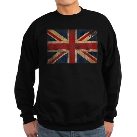 United Kingdom Flag Sweatshirt (dark)