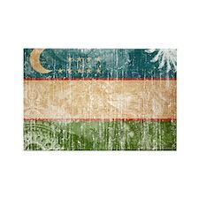 Uzbekistan Flag Rectangle Magnet (10 pack)