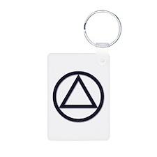 N.A. Logo Classics - Aluminum Photo Keychain