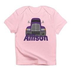 Trucker Allison Infant T-Shirt