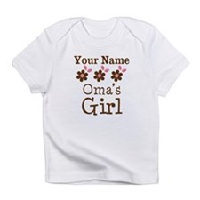 Personalized Oma's Girl Infant T-Shirt