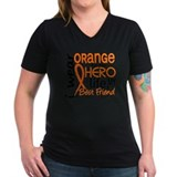 Multiple sclerosis t-shirts Womens V-Neck T-shirts (Dark)