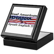American English Keepsake Box