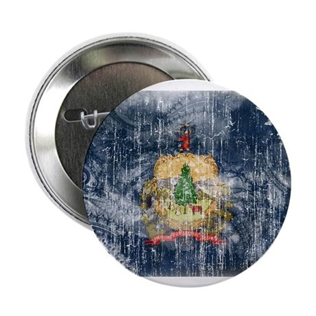 """Vermont Flag 2.25"""" Button (100 pack)"""