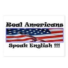 American English Postcards (Package of 8)