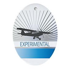 Aircraft Experimental Ornament (Oval)