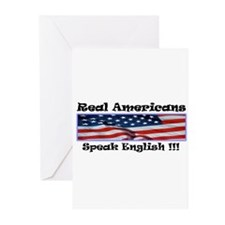 American English Greeting Cards (Pk of 10)