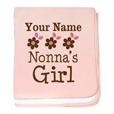 Personalized Nonna's Girl baby blanket