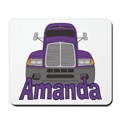 Trucker Amanda Mousepad