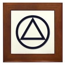 A.A. Symbol Basic - Framed Tile
