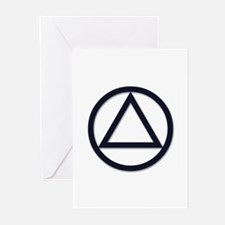 A.A. Symbol Basic - Greeting Cards (Pk of 10)