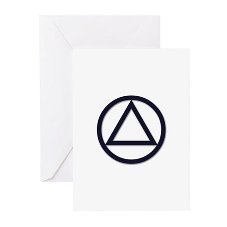 A.A. Symbol Basic - Greeting Cards (Pk of 20)