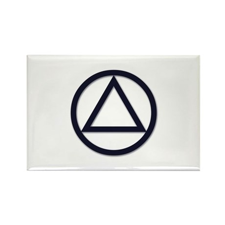 A.A. Symbol Basic - Rectangle Magnet (10 pack)