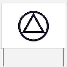 A.A. Symbol Basic - Yard Sign