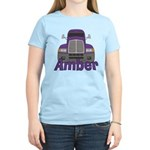 Trucker Amber Women's Light T-Shirt