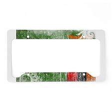 Zambia Flag License Plate Holder