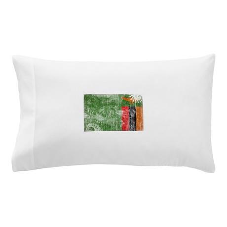 Zambia Flag Pillow Case