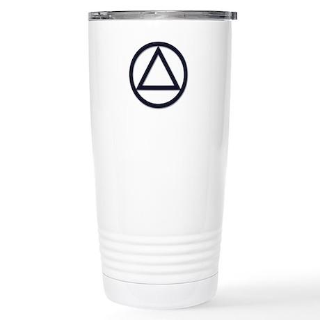 A.A. Symbol Basic - Stainless Steel Travel Mug
