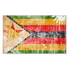 Zimbabwe Flag Decal
