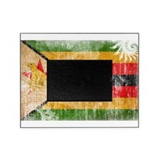 Zimbabwe Flag Picture Frame