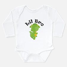 Lil Bro Dragon Long Sleeve Infant Bodysuit