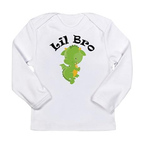 Lil Bro Dragon Long Sleeve Infant T-Shirt