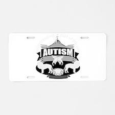 autismsym.png Aluminum License Plate