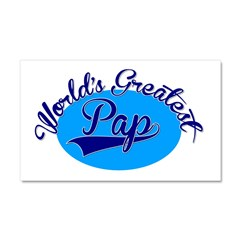 Worlds Greatest Pap Car Magnet 20 x 12