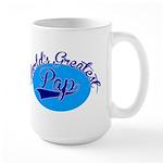 Worlds Greatest Pap Large Mug