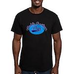 Worlds Greatest Pap Men's Fitted T-Shirt (dark)