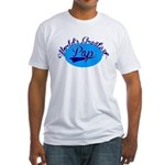 Worlds Greatest Pap Fitted T-Shirt