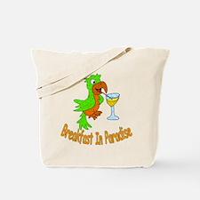 Breakfast in Paradise Tote Bag