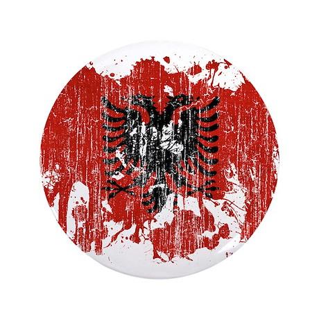 "Albania Flag 3.5"" Button (100 pack)"