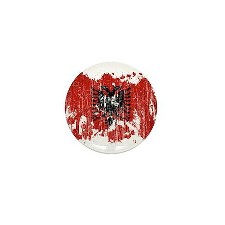 Albania Flag Mini Button