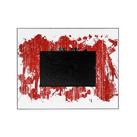 Albania Flag Picture Frame