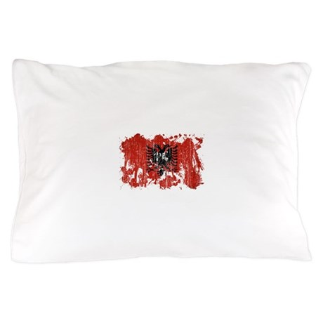 Albania Flag Pillow Case