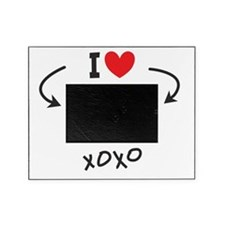 Funny I Heart Picture Frame