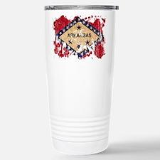 Arkansas Flag Travel Mug