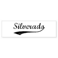 Silverado - Vintage Bumper Bumper Sticker