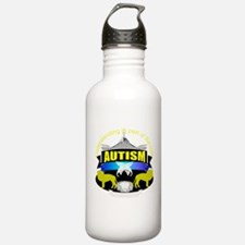 autismsymcolor.png Water Bottle