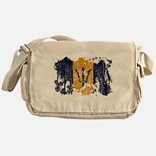 Barbados Flag Messenger Bag
