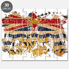 British Columbia Flag Puzzle