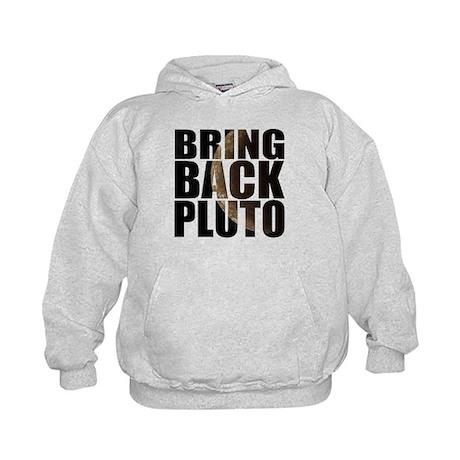 Bring back pluto Kids Hoodie